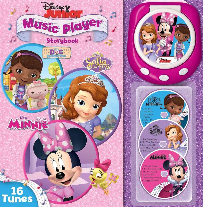 Disney Junior Music Player Storybook By Disney Junior (CRT)