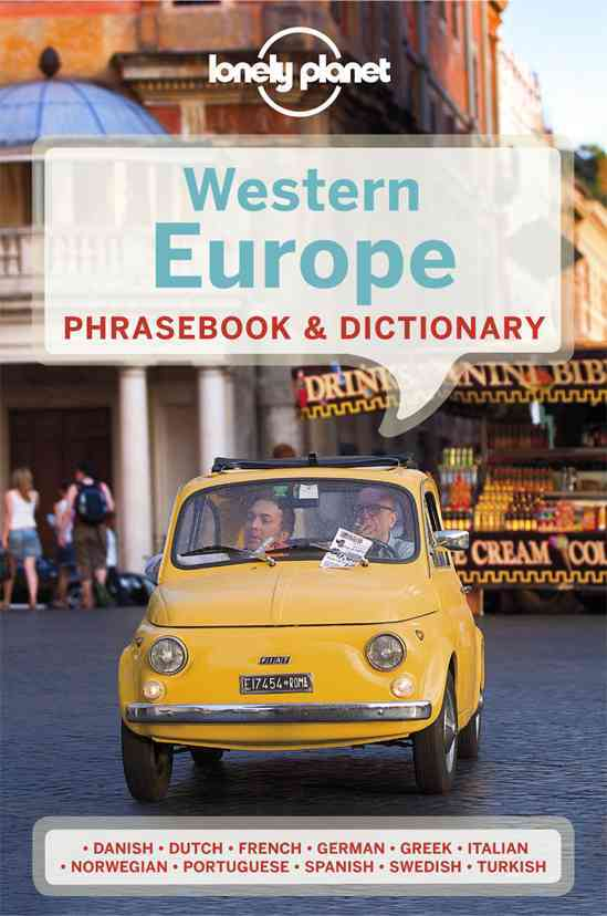Lonely Planet Western Europe Phrasebook By Lonely Planet Publications (COR)